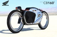 Hubless-Electric Honda-Motorcycle