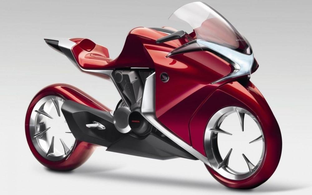Hubless-Electric Honda Motorcycle