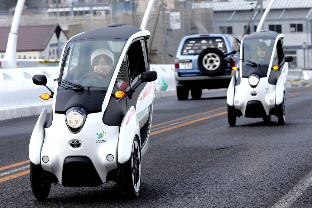 Toyota i-Road Smart Mobility Challenge