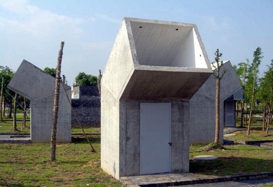 Public Toilets Jinhua, China