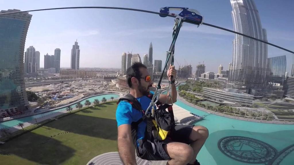 Dubai Urban Zipline