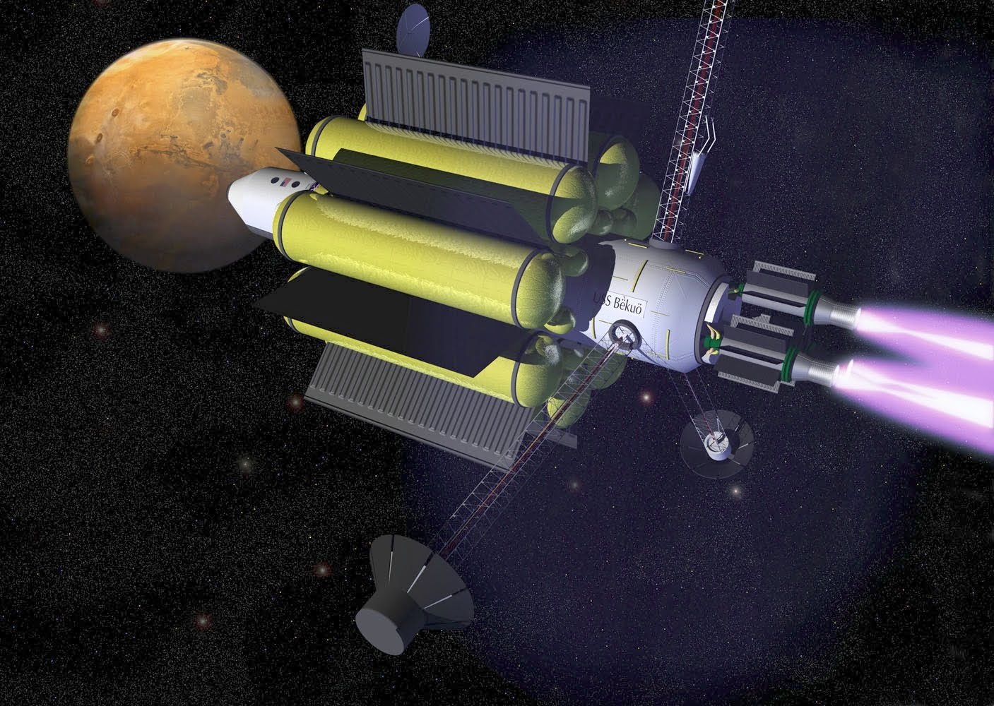 NASA's New VASIMR Plasma Engine Could Reach Mars in 39 days
