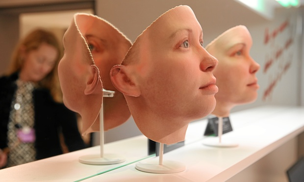 Chelsea Manning 3D Printed Face from DNA