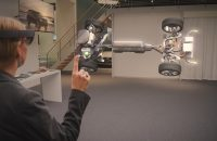 Volvo Using Microsoft HoloLens