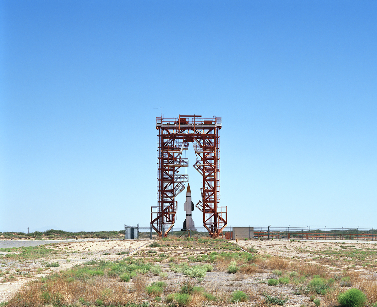 Fig. 1.2V2 Launch Site with Hermes A-1 Rocket,Launch Complex 3