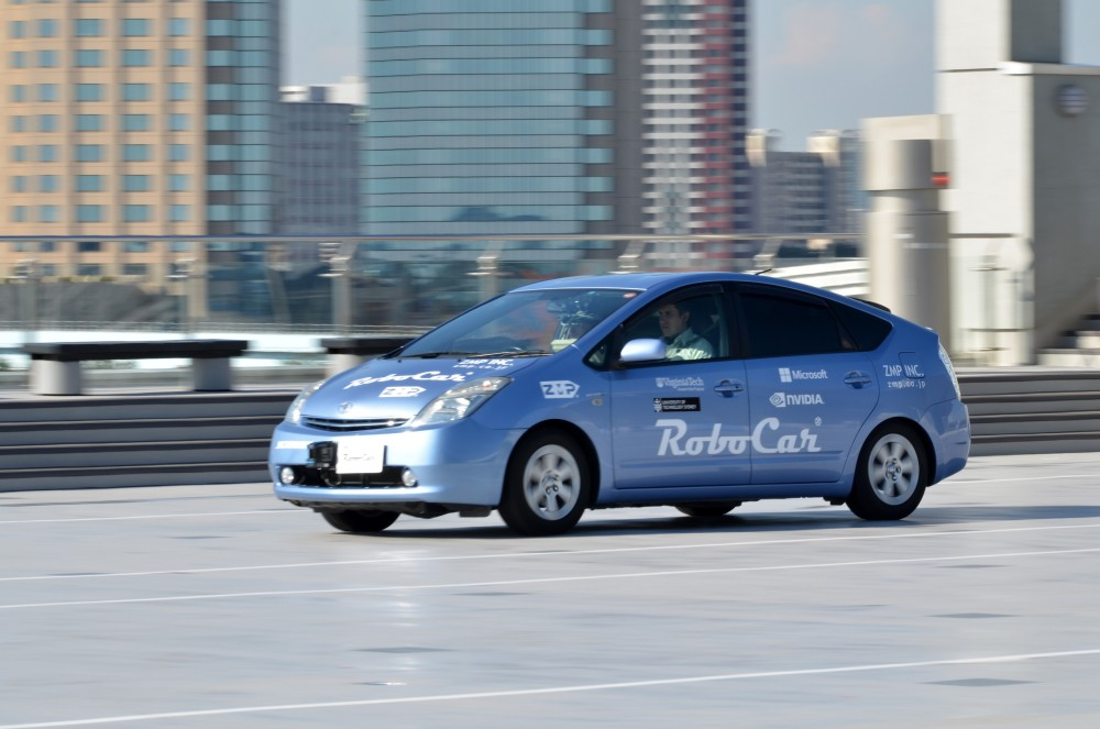 Japanese Robot Taxi