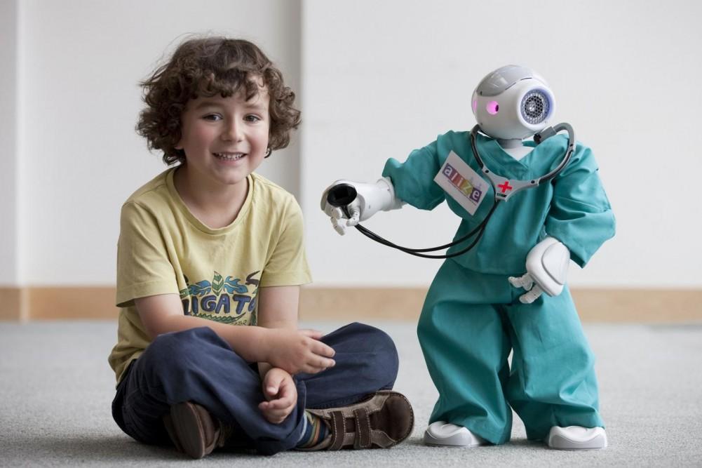 Знакомства с роботом