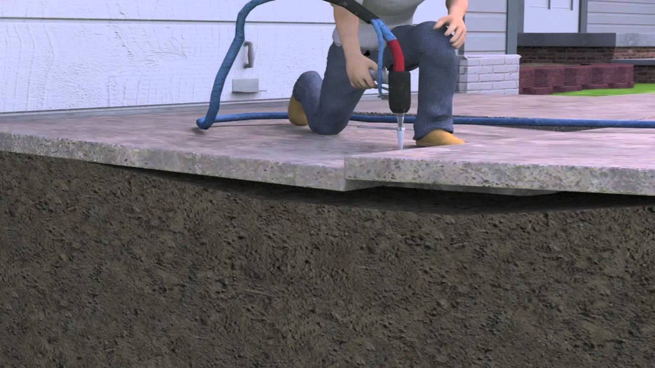 The polylevel system lifts and levels dangerous sinking and the polylevel system lifts and levels dangerous sinking and cracking concrete industry tap dailygadgetfo Choice Image