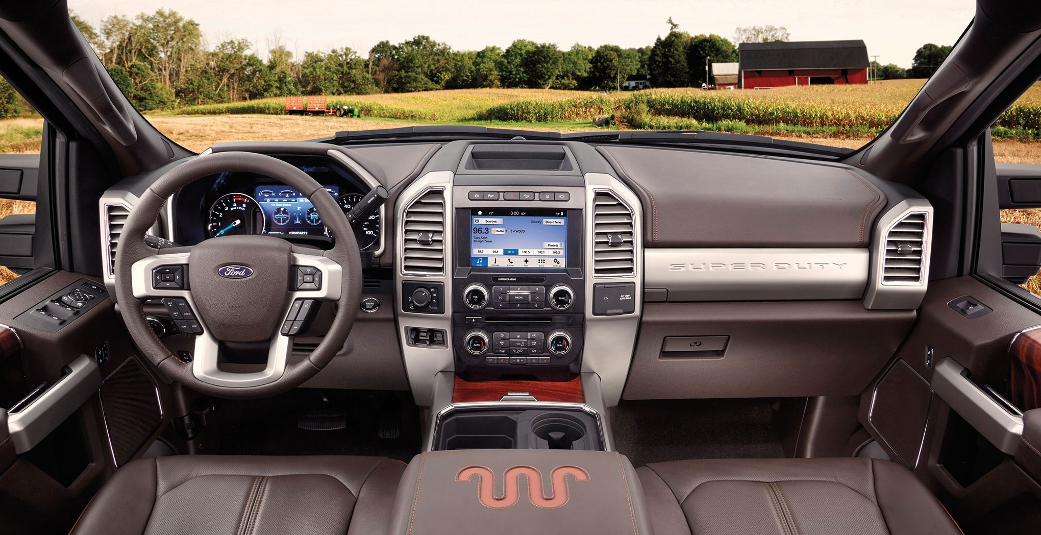 Ford's 2017 Super Duty Features the Quad-Barreled Cupholder We've Been Waiting For - Industry Tap