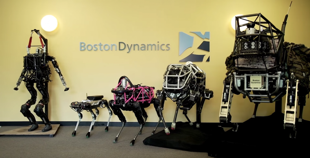 Boston Dymanics Robots including SpotMini