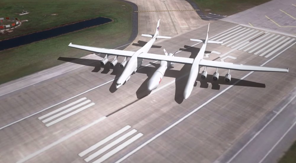 Stratolaunch Paul Allen