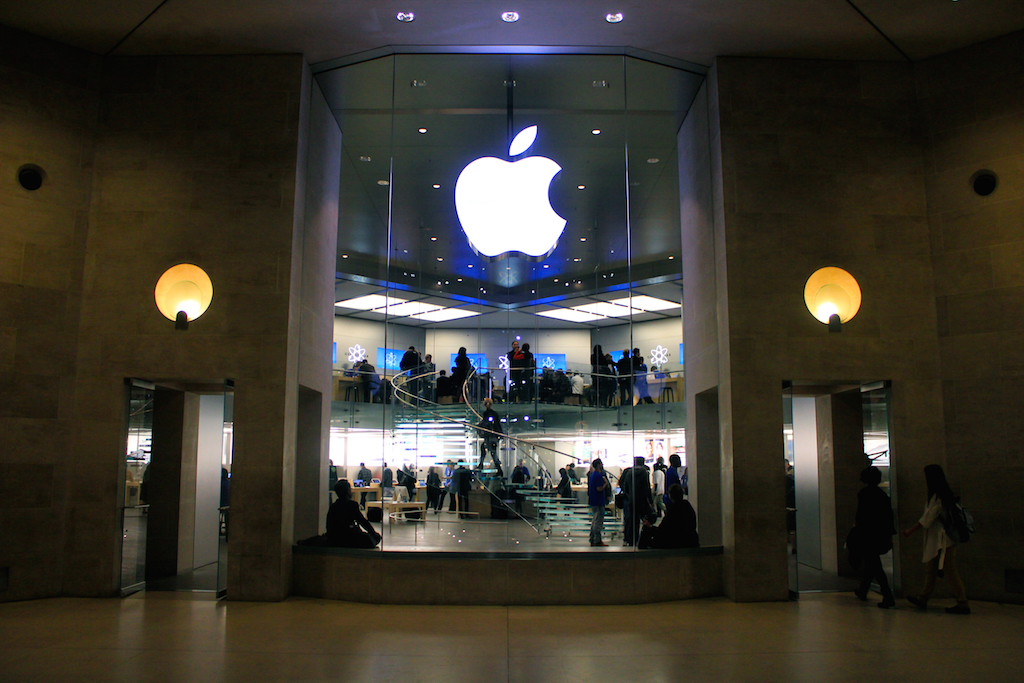 Apple Store Paris Apple Patents