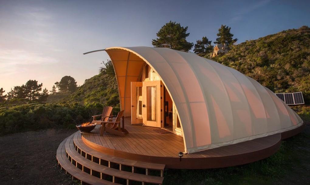 Luxury Off-Grid Autonomous Tent Lets You Camp in Style