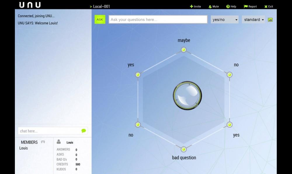 UNU Screen Swarm Intelligence Predicts