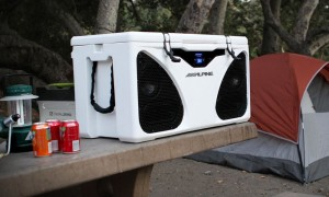 14-Gallon Cooler from Alpine Electronics Features a Huge Built-In Speaker