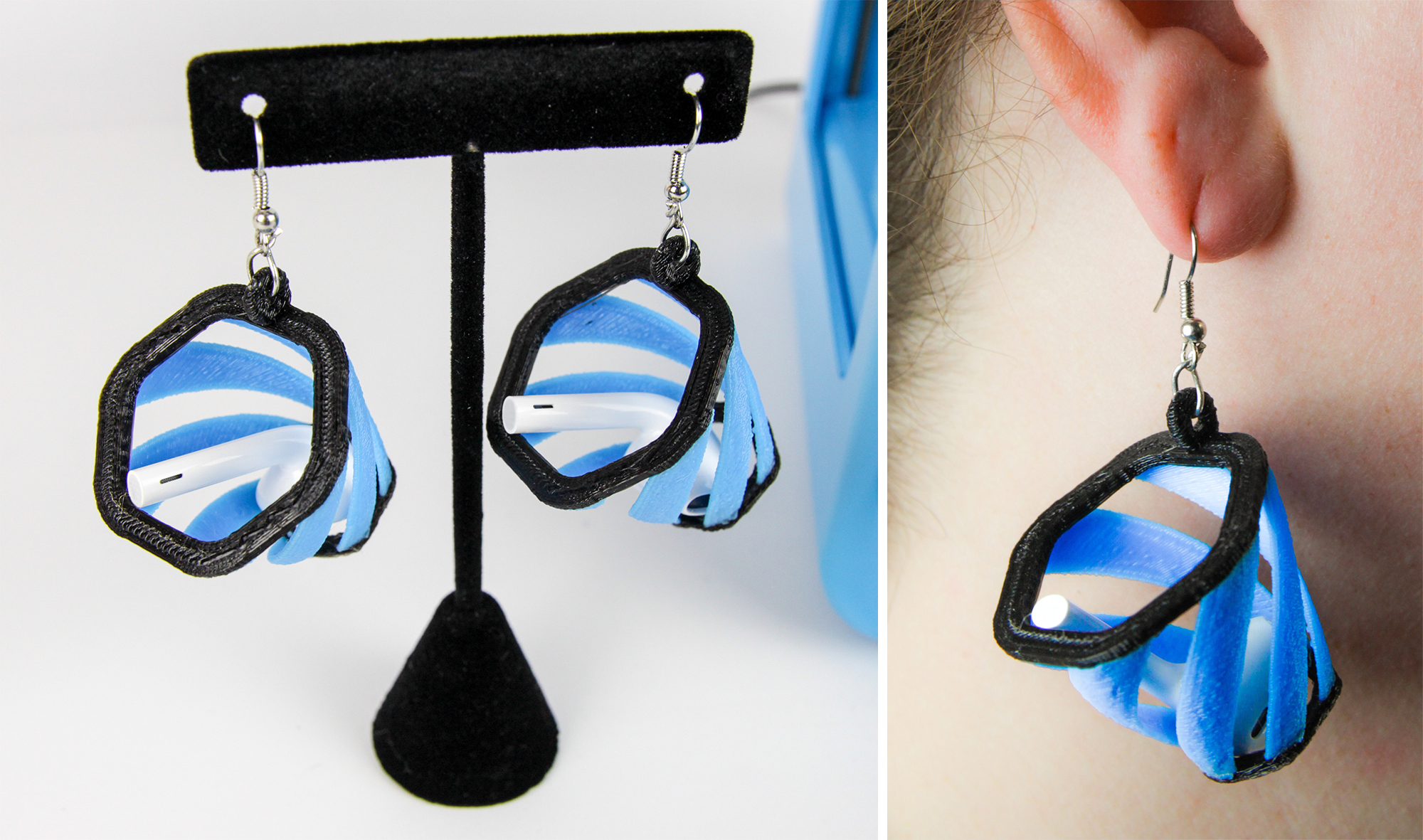 3d Printed Earring Basket Things Will Stow Or Catch Your New Apple