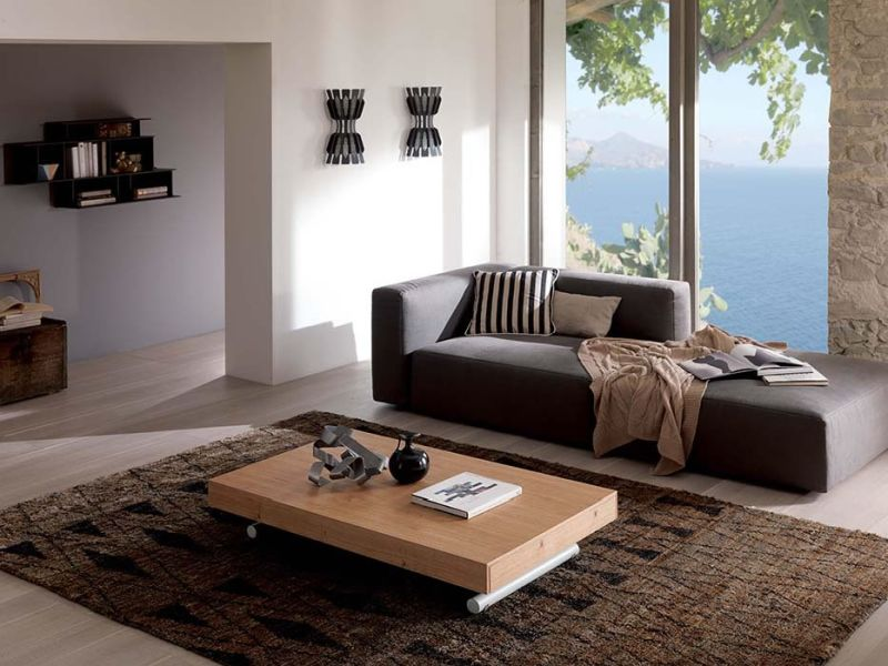 transformable sofa space saving furniture. Interesting Transformable New In Space Saving Furniture Tiny Studio Ozeta Coffee Table Expands To  Seat 10 People  Industry Tap And Transformable Sofa Furniture T