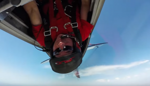 GoPro Vid Showing Guy Doing Inverted Flat Spins, Barrel Rolls, and Loops Will Induce Vomiting