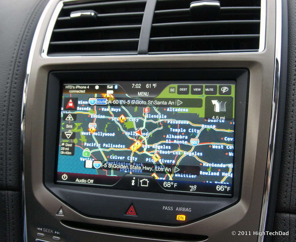 Traffic Enabled GPS