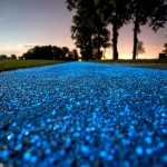 Poland Unveils Glow-In-The-Dark Bicycle Path That's Charged by the Sun