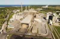 Cement Factory in Kunda, Estonia