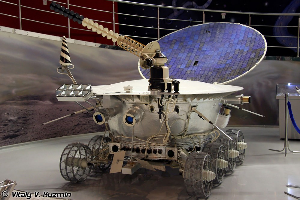 Lunokhold 1 in Memorial Museum of Cosmonotics