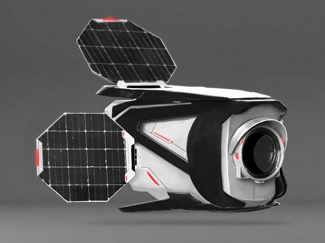 SatRevolution 3D Printed Satellite Housing