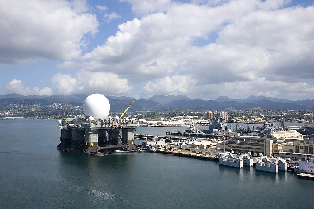 Sea Based X-Band Radar