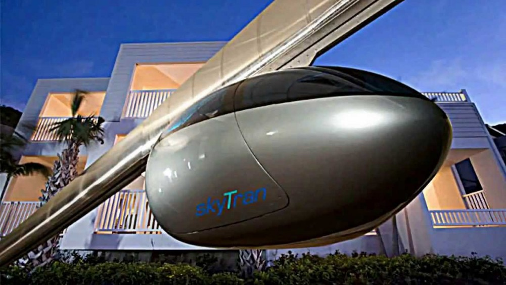 SkyTran Electric Vehicle