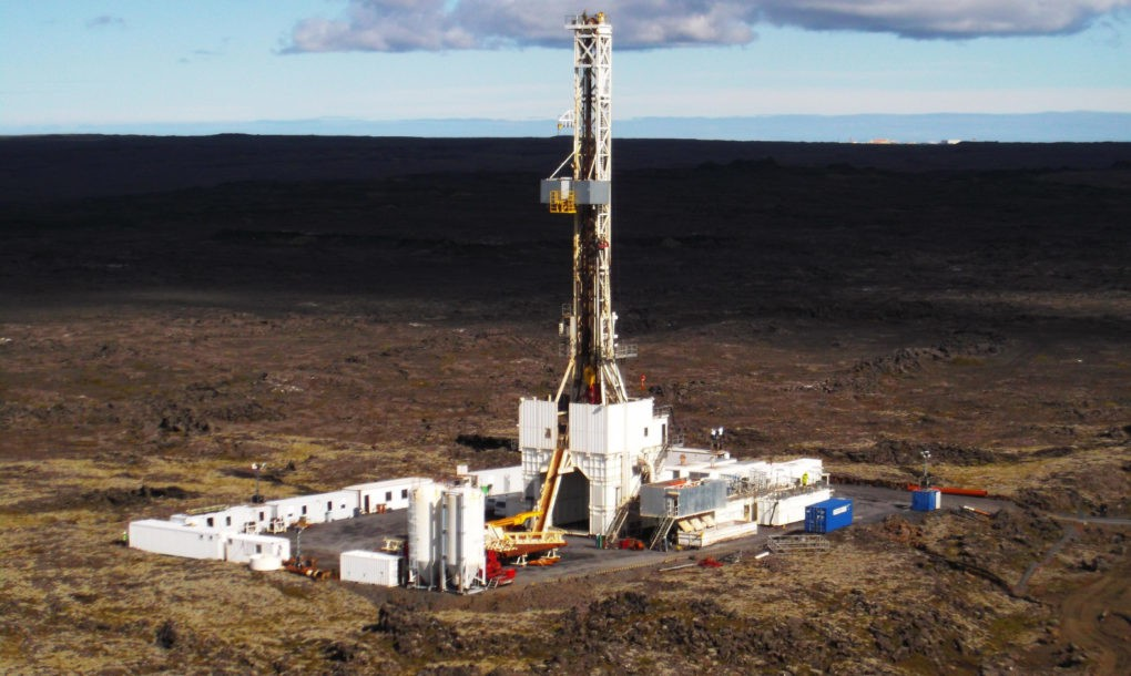 Image courtesy Iceland Deep Drilling Project