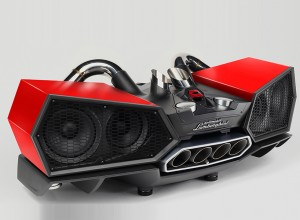 The IXOOST Esavox Lamborghini Speaker Pumps Out Sound From Exhaust