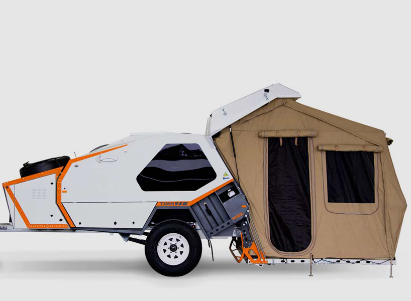 Tvan C&er Features 60 Second Tent Set Up Time and a Queen Size Bed - Industry Tap & Tvan Camper Features 60 Second Tent Set Up Time and a Queen Size ...