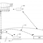 Amazon Files Patent for Huge Flying Warehouse Equipped With Delivery Drones