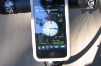 GPS on Bicycle