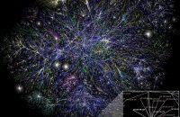 Internet Map & Telecommunications