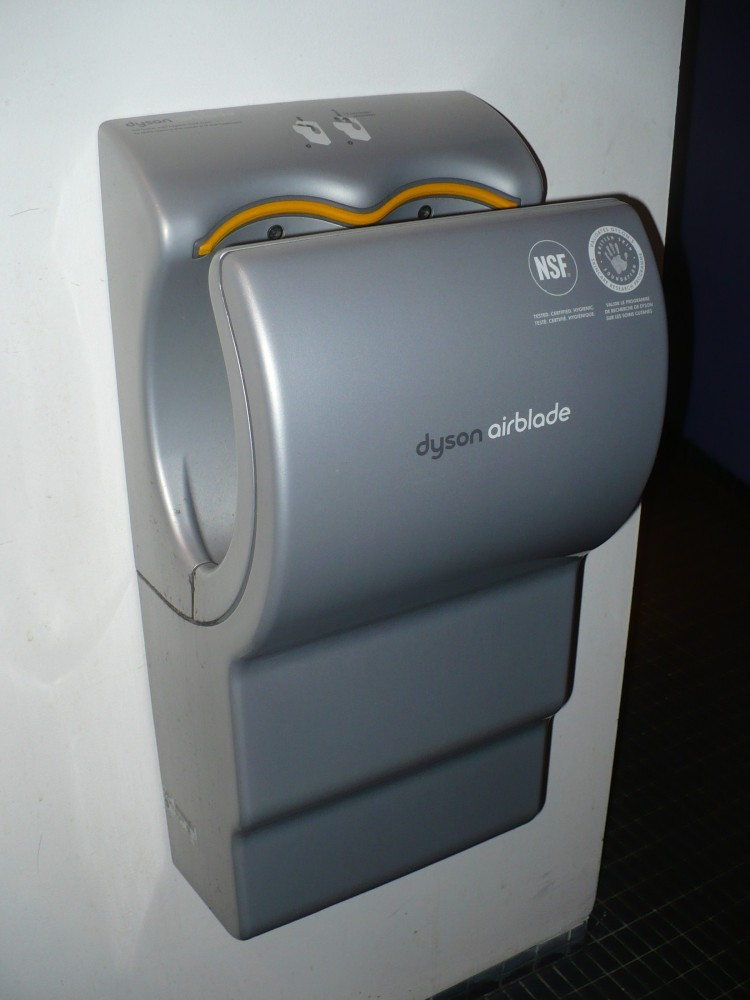 James Dyson Air Blade Industrial Design