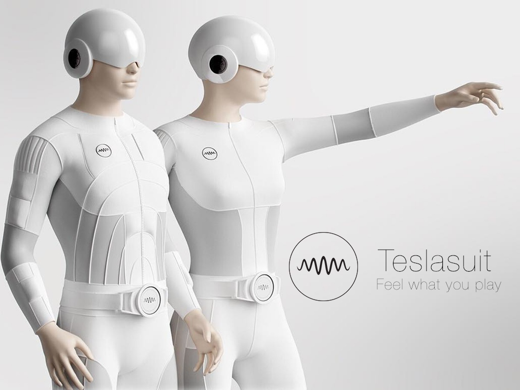 Tesla Suit Haptics