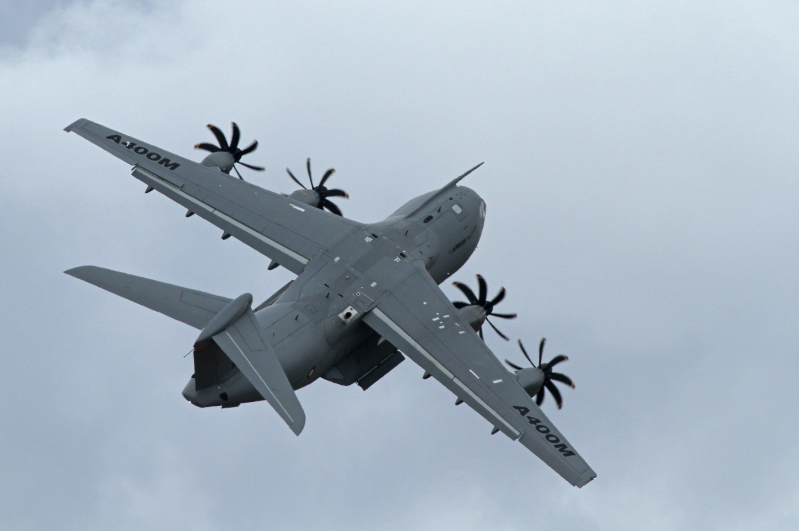 Airbus A400M Tactical Plane