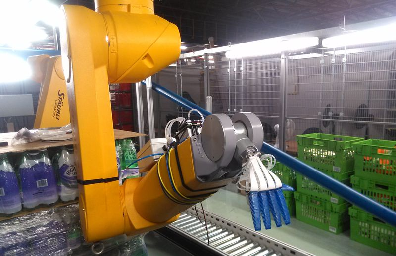 Ocado's Robot Arm Automates the Grocery Process By Picking and Packing Orders
