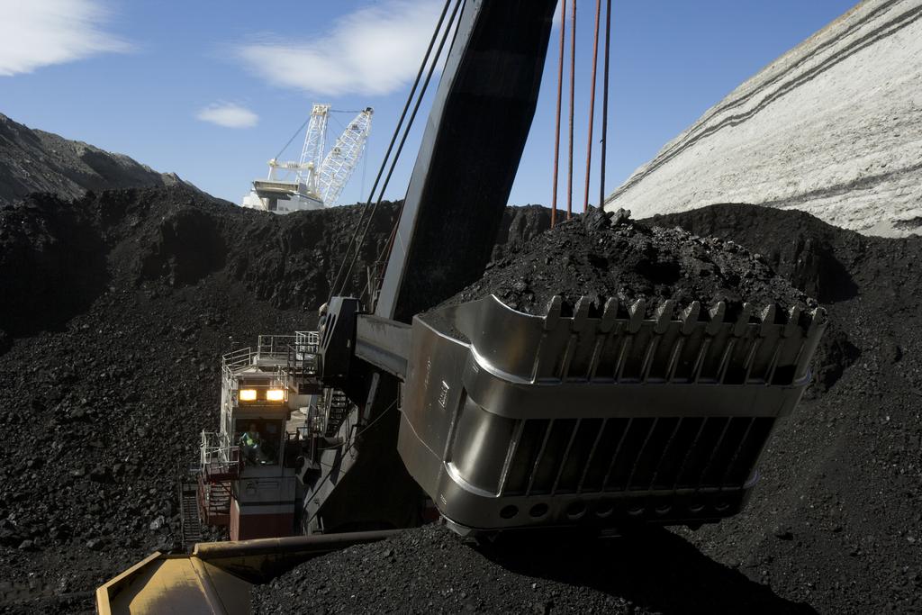 Coal Shovel at Mine - Peabody Energy