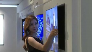 """LG's New 0.97mm OLED """"Wallpaper"""" TVs"""
