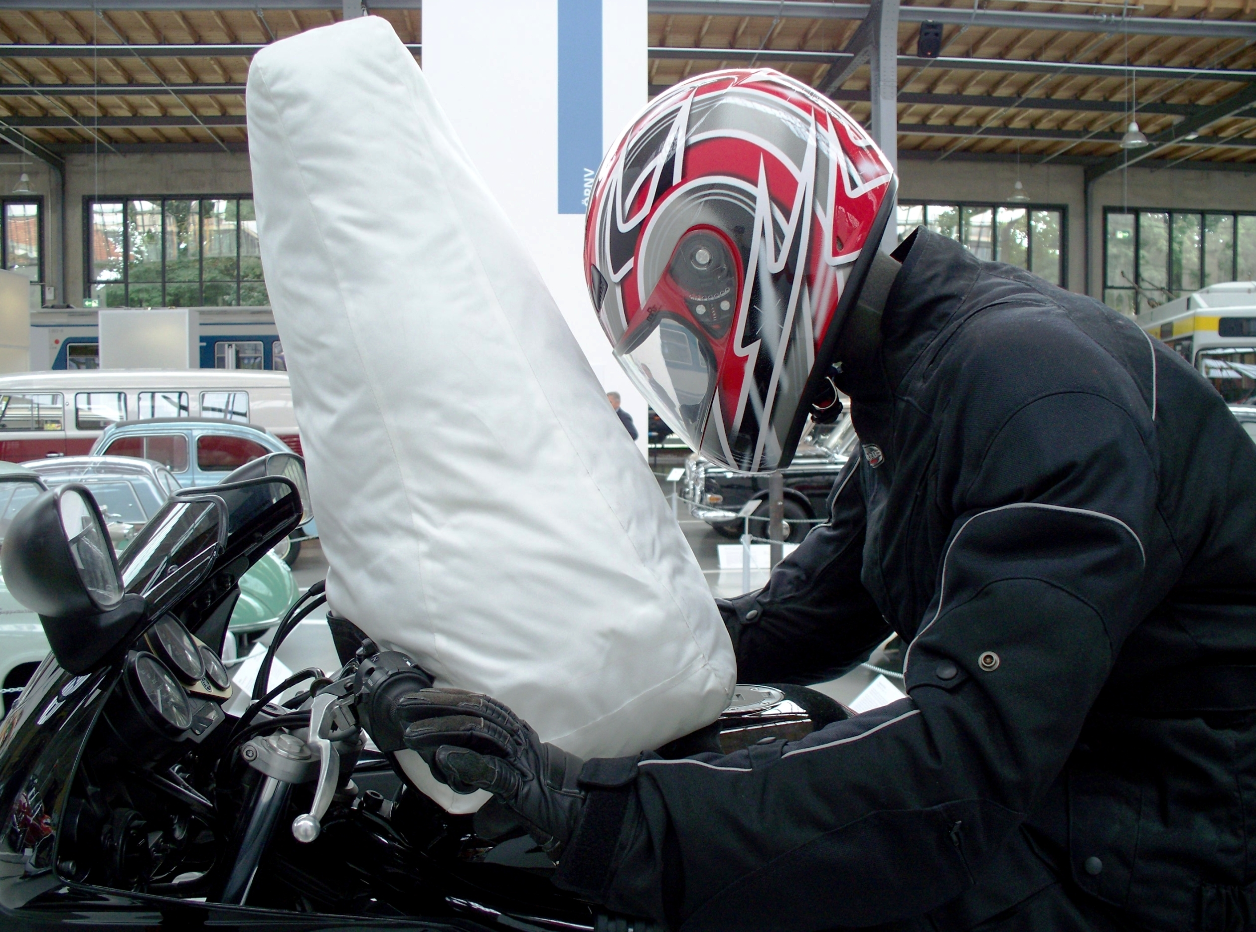 motorcycle full body armor saving lives reducing injuries gopro video industry tap. Black Bedroom Furniture Sets. Home Design Ideas