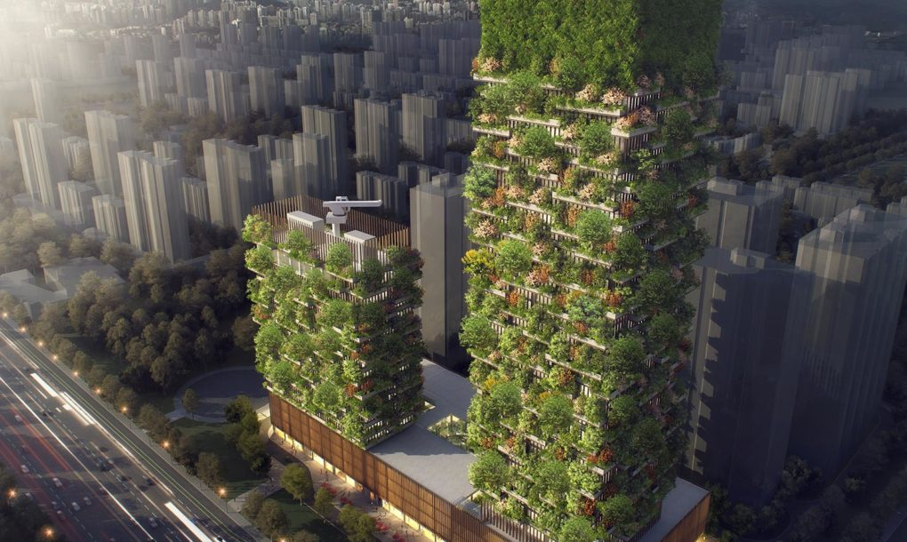 Vertical Forest Will Produce 60 Kg of Oxygen Every Day In China