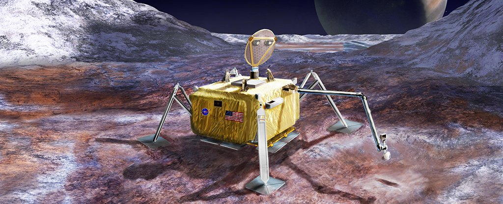 NASA Plans to Send a Robot Lander to Find Alien Life on Europa