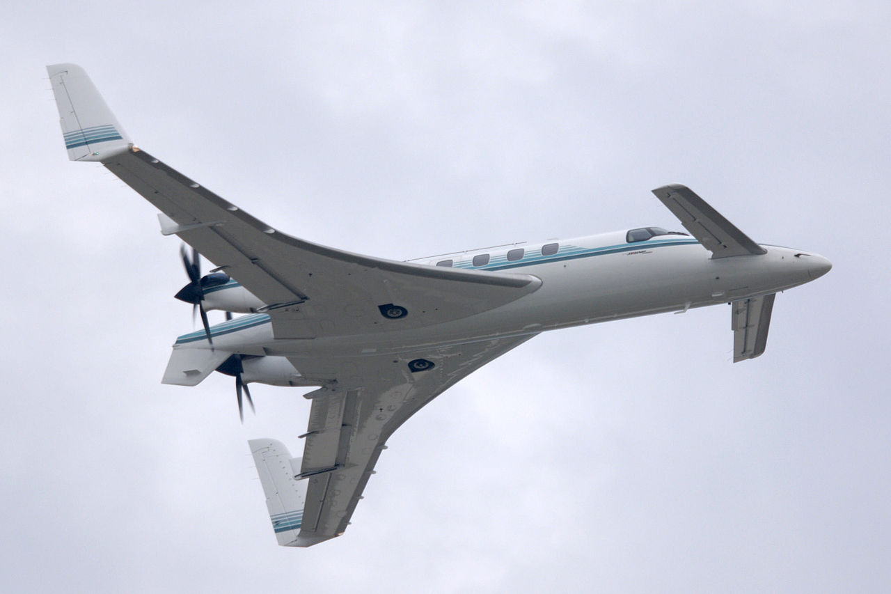 Beechcraft Starship made with Aerospace Composites