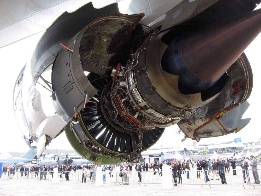 General Electric Engine Jet Parts