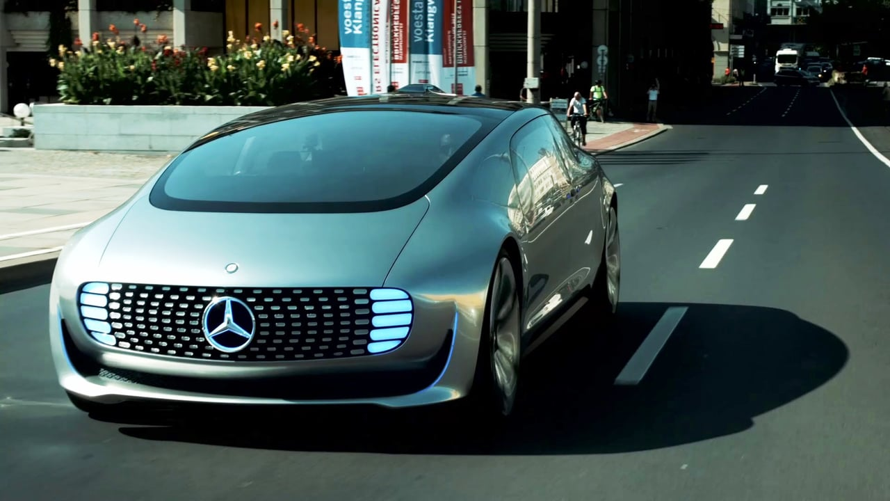 Mercedes Benz Driverless Vehicle