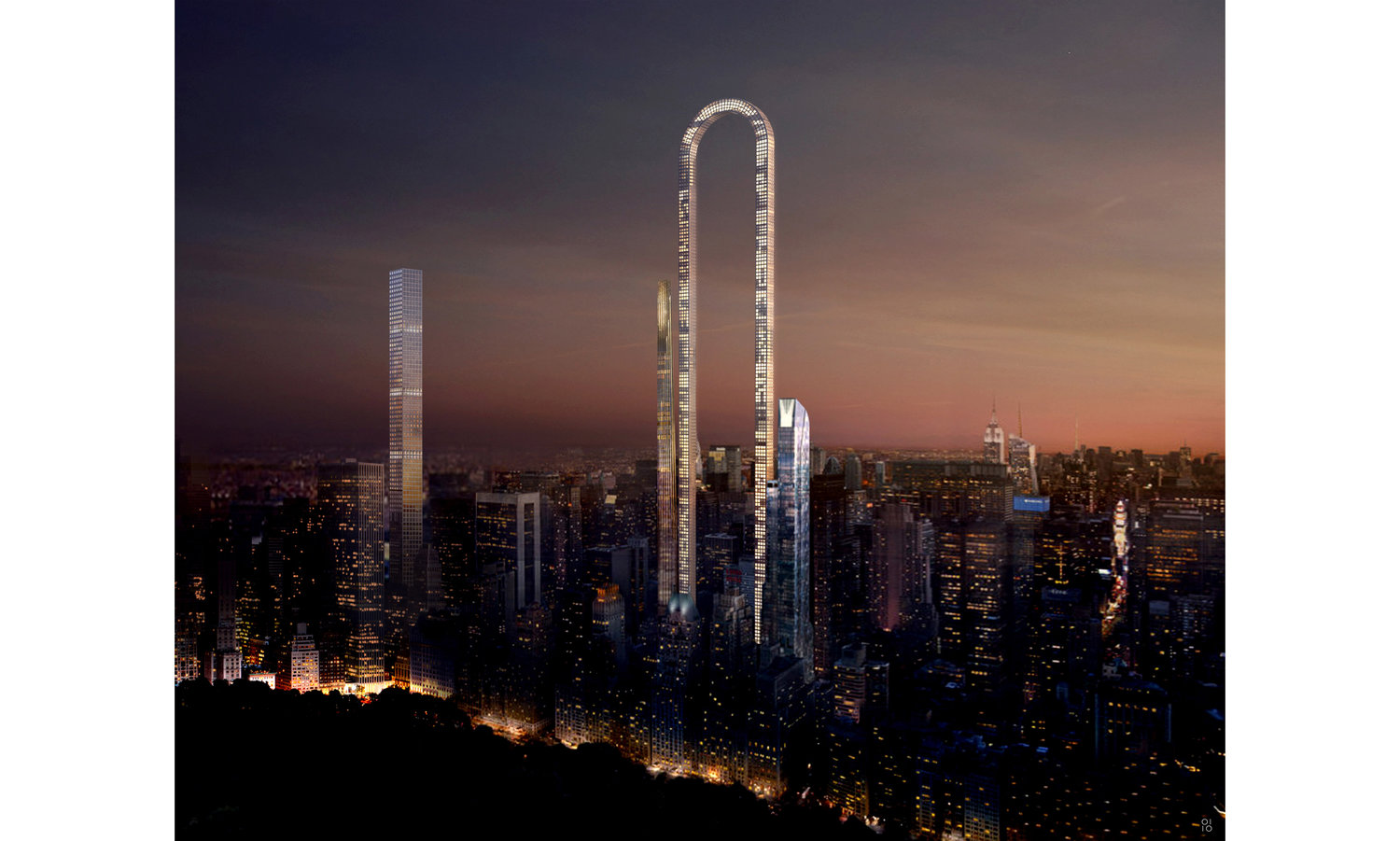 Big Bend – The Incredible U-shaped New York Skyscraper Will Be the 'Longest Building in the World'