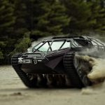 The World's First Commercially Available Luxury Tank – Ripsaw EV2 – Performs Like a Sports Car on Any Terrain