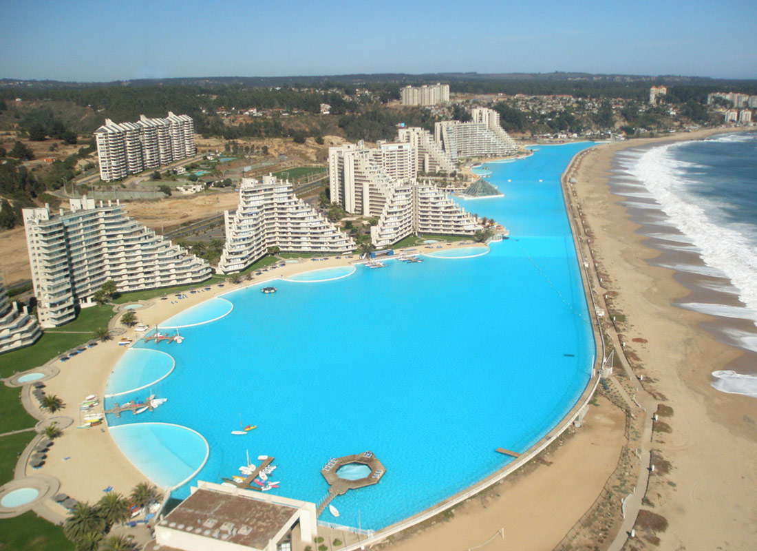 World's Largest Swimming Pool Cost $1.5 Billion